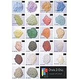 #CP16 Chalk 2 Chic - 11, 312 G, de colour blanco, Dune, de pizarra, shabby-chic-Stil, Glas-muy bien miscible en dispersión de coloures