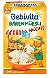 Bebivita Früchte-Müesli, 4er Pack (4 x 450 g)