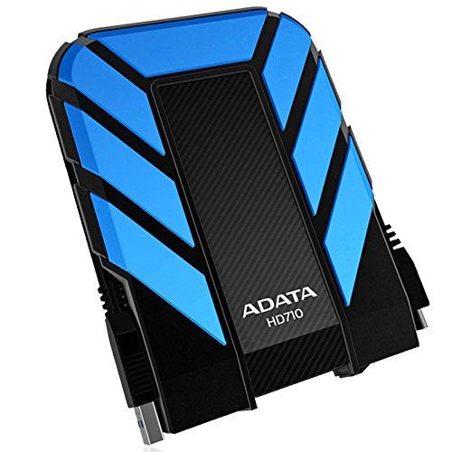 ADATA  HD710 1TB USB3.0 Durable External Hard Drive, IP68, Blue (AHD710-1TU3-CBL)