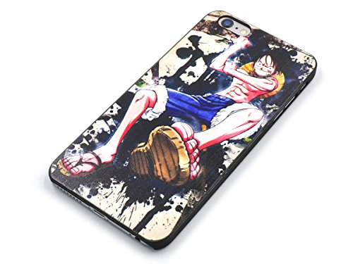 CoolChange Schutzhülle mit One Piece Motiv für das iPhone 6 / 6S Plus, Motiv: Lorenor Zorro Motiv: Monkey D. Ruffy