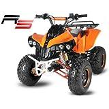 Quad ATV mit Schneeschieber Schneeschild aufgebaut 100cm Warrior 3G8 RS