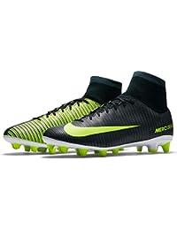 Botas Nike Mercurial Victory Cr7 Suela Ag Negro Con Calcetín