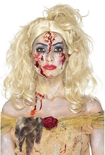 ombie Prinzessin gedreht Märchen unheimlich Make-up Spezialeffekte Make-Up Kostüm Kleid Outfit Zubehör Set (Unheimlich Zombie Make Up)