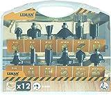Leman 416.700.12–Set mit 12Erdbeeren (6) Orange