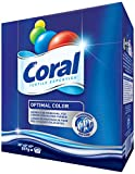 Coral Feinwaschmittel Optimal Color Waschpulver, 4er Pack 18 WL (4 x 18 WL)