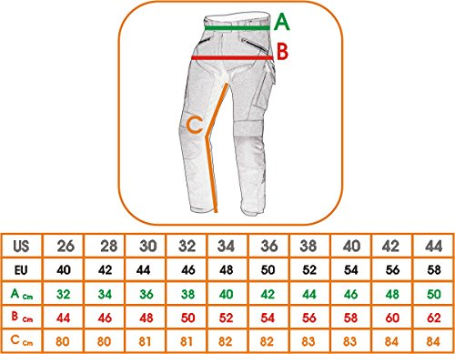 Pantaloni-Cordura-Tessuto-Moto-Impermeabile-Termaca-Sfoderabile-Touring-Uomo-40