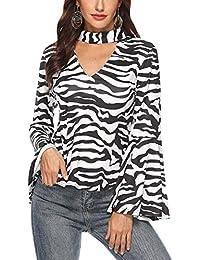 Amazon it L Donna Zebra Abbigliamento wvYq4w