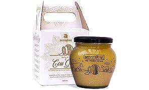 Anveshan A2 Vedic Bilona Cow Ghee in Glass Jar 500 ML