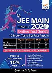 Disha the JEE Main Finale 2020 Online Test Series – 10 Mock Tests and 2 Past Papers (Email Delivery in 2 Hours