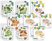Yooji - Panier Légumes Viandes et Poissons Bio pour le Repas de Bébé de 6 à 8 Mois - Alimentation Saine et Équ