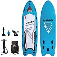 YONGMEI Grupo Tablero Multijugador Gigante Sup Paddle Board Esquí acuático Surf Paddle, 216.5 * 59.8 * 7.9in (Color : Azul)