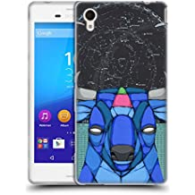 Official Ric Stultz Starbuck Animals 3 Soft Gel Case for Sony Xperia M4 Aqua
