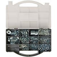 Fixman 477005 - Pack de 1000 arandelas, color plata