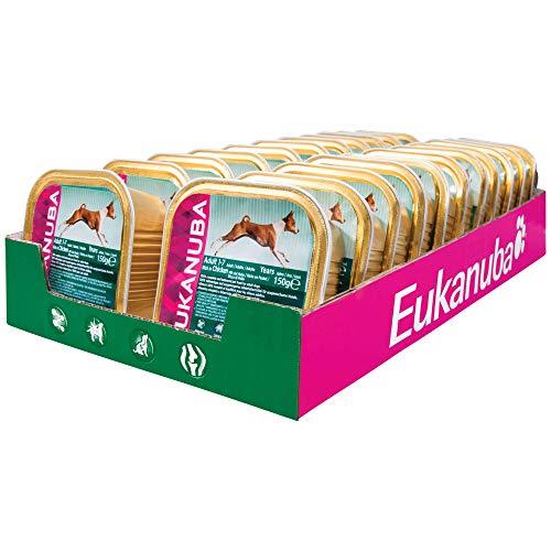 Eukanuba Hundefutter Nass Adult Huhn, Nassfutter in Sauce (22 x 150g)
