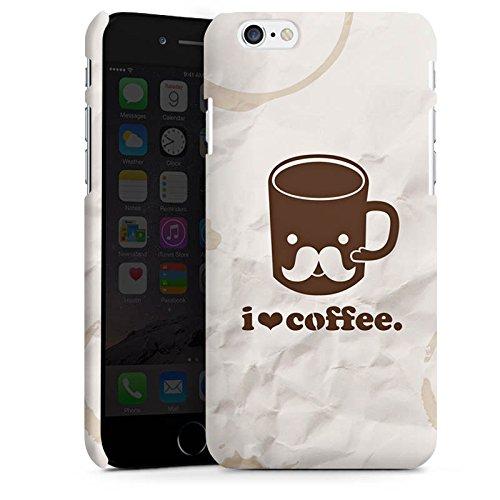 Apple iPhone X Silikon Hülle Case Schutzhülle Kaffee Tasse Liebe Premium Case matt