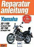 Yamaha XV 1100 ab Baujahr 1989, XV 750 ab Baujahr 1992. Illustriert. [Reparaturanleitung 5201]