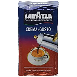 Lavazza Crema e Gusto Ground Coffee 250 g (Pack of 8) 51O3rgPFklL