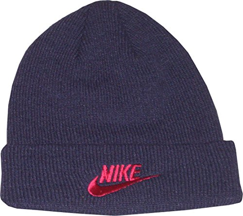 Nike Kinder Wollmütze. Knit Hat. Beanie. Lila. Größe Youth XS/S Child. Unisex (Nike Kinder Jungen Sets)