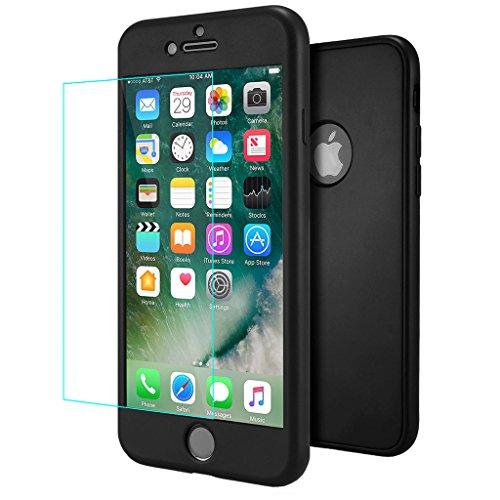 custodia iphone 7 nera