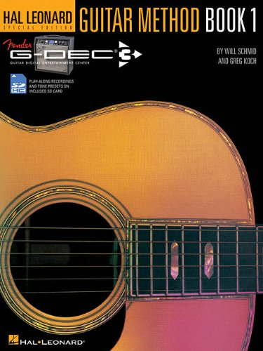 Hal Leonard Guitar Method Fender G-Dec Guitar Play Along BK 1 BK/Sd (Hal Leonard Special Edition)