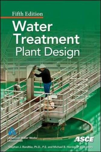 Water treatment plant design por N/A American Society Of Civil Engineers