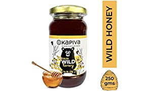 Kapiva Himalayan Wild Honey - Pure, Natural and Healthy, 250GM
