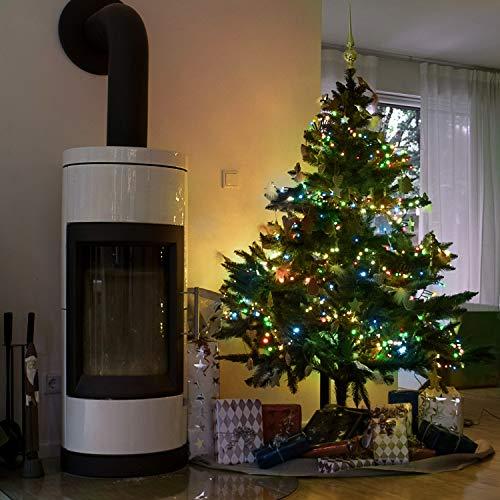 Weihnachtsbeleuchtung Tannenbaum Innen.ᐅᐅ Laenge Lichterkette Weihnachtsbaum Test Die Bestseller Im