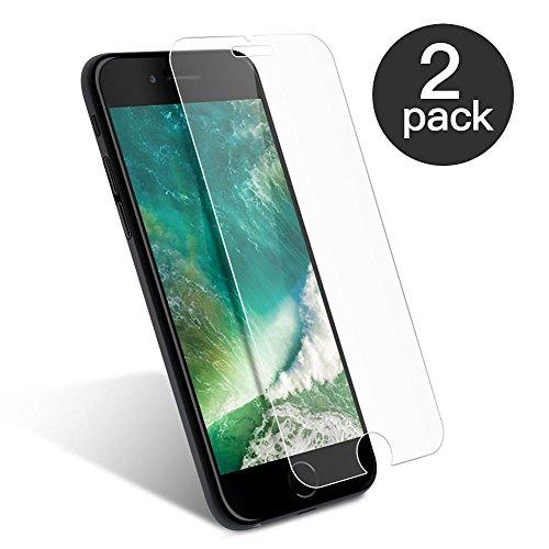 aiMaKE 2 Stück Ultra-klar Panzerglas Schutzfolie für iPhone 7 | 3D Touch | Ultra-dünn Folie (nur 0,25mm) | Anti-Kratz | Blasenfrei Test