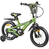 Kinderfahrrad Kawasaki Dirt Fahrrad Kinder Rad 16 Zoll