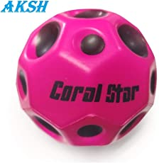 AKSH Toys Super Bouncy Coral Star Ball Anti Stress Ball (Multicolor)