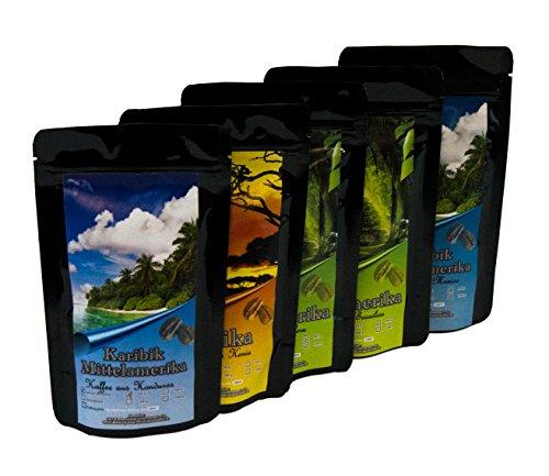 Geschenk Set - Länder Kaffee aus aller Welt - Kaffeebohnen im Geschenkkarton , das perfekte...