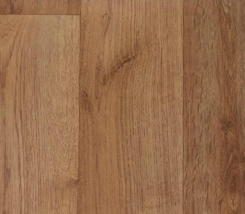 PVC Vinyl-Bodenbelag | Muster | in Nussbaum Optik | CV PVC-Belag in verschiedenen Maßen verfügbar | CV-Boden wird in benötigter Größe als Meterware geliefert