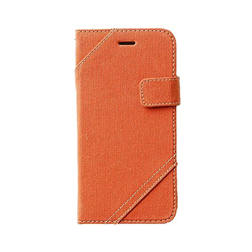 Zenus OA400146 Cambridge Diary Case in Orange für Apple iPhone 6
