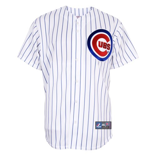MLB Baseball Trikot/JErsey Chicago Cubs white Home in XL (X-LARGE) (Go Home Trikot)