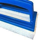 Weigand - Spazzola in tessuto non tessuto per lavori di pulizia di piscine, laghetti, accessori I Weigand Wellness I Dimensioni (Pad) ca. 14,5x 8,5x 2,2 cm.