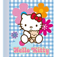 Plaid in pile 'Hello Kitty' multicolore. - Kitty Lily