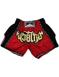 Lumpinee Retro Original Muay Thai pantalones cortos para Kick Boxing lucha lumrto-010