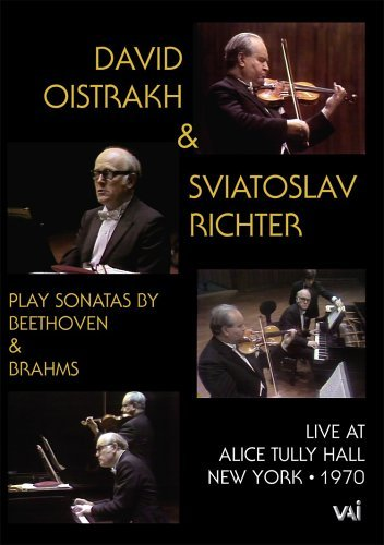 David Oistrakh & Sviatoslav Richter in Recital (Beethoven, Brahms) [Import italien]
