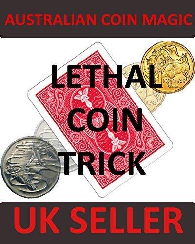magisch Australian lethal Münze Trick / 20 Cent Transformation auf Australian dollar Münze - 20-dollar-münze