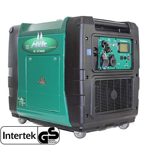 FME XG-SF 5600 (Dieselbetriebener Inverter Generator auf Rollen mit e-Start und Fernbedienung) (Notstromaggregat, Stromerzeuger, Stromerzeugungsaggregat)