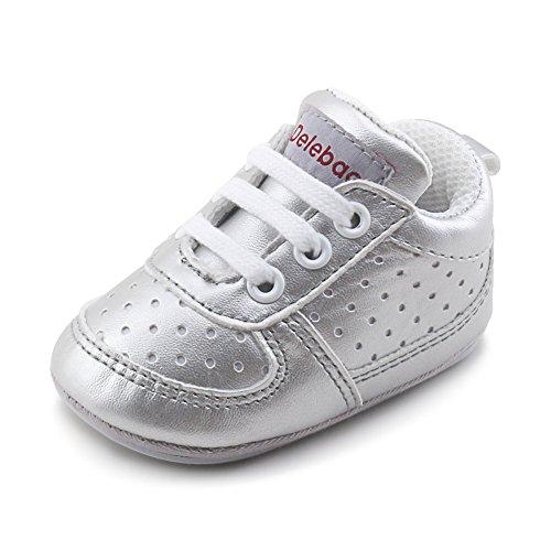 84f059fc69 DELEBAO Zapatillas de Niño Zapatos para Bebé Primeros Pasos Calzado ...