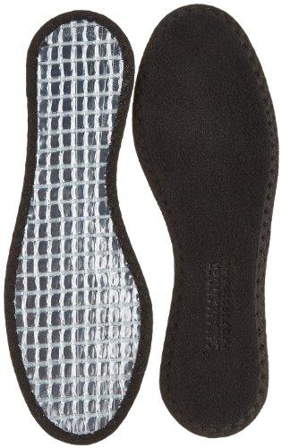 Salamander Professional Alu Fleece Einlegesohlen, (schwarz 000), 43 EU - Lamm-fan