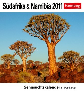 Südafrika & Namibia 2011: Sehnsuchts-Kalender. 53 heraustrennbare Farbpostkarten