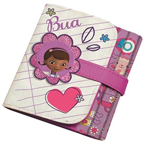 Disney Junior ,  Kinder-Geldbörse weiß rosa / weiß (Junior Disney Kinder)