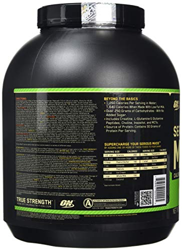 Zoom IMG-3 optimum nutrition serious mass proteine