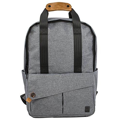 "ALLCAMP Laptop Backpack 15.6"", Zaino per Laptop Fino a 15.6"", Grigio"