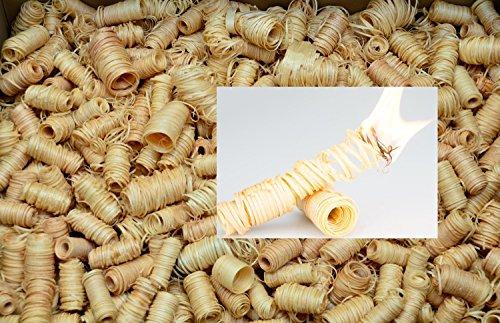 12,5 kg mumba Tornados natürliche Ofenanzünder aus Holzwolle in Wachs getränkt Kaminanzünder Holzanzünder Zündwolle (12,5 kg, Tornados)
