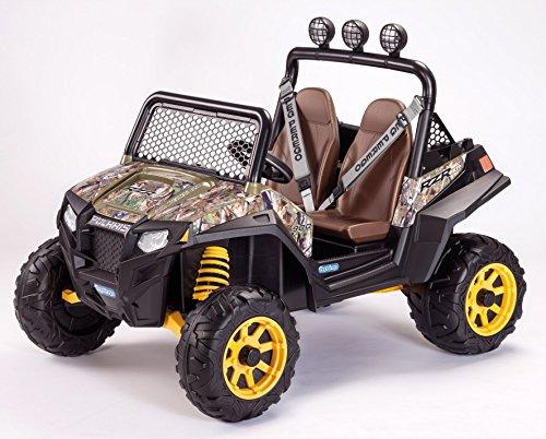 Preisvergleich Produktbild Peg Perego Polaris Ranger RZR 900 12 V Elektrojeep Camouflage OD0076