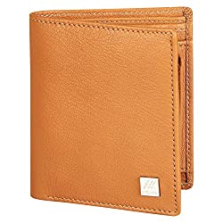Aditi Wasan Genuine Leather Tan Wallet