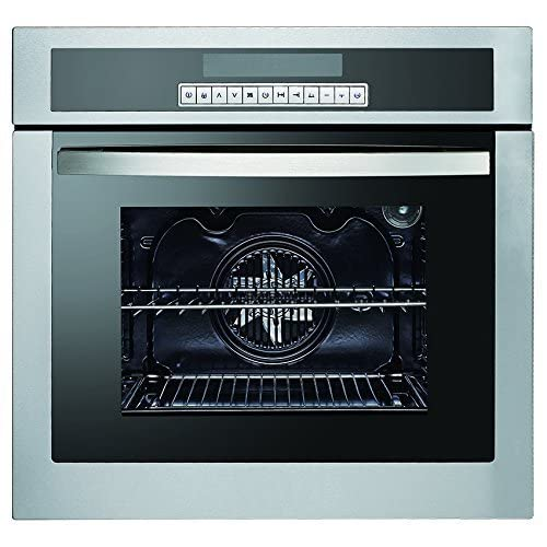 51O487m fRL. SS500  - MILLAR E590512-O1U1E 12 Functions Electric Fan Oven with Rotisserie and Catalytic Self Cleaning
